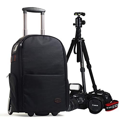 HOSD Camera Bag Trolley Case Mochila Bag Trolley Bag SLR Bag Casual Mochila Digital...