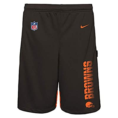 NFL Big Boys Youth (8-20) Knit Player Shorts, Cleveland Browns Small 8