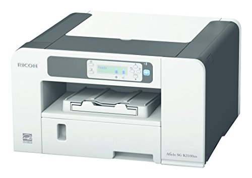 Ricoh SG K3100DN - Impresora de inyección en Blanco y Negro (1800 x 600 PPP, Ethernet 10 Base-T/100 Base-TX, USB 2.0), Color Gris