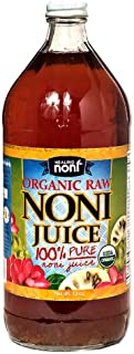 Raw Organic Hawaiian Noni Juice - 32 Ounce Glass Bottle …