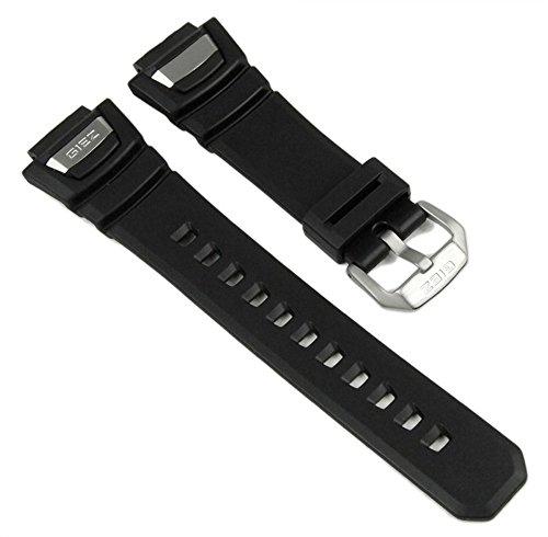 Casio Ersatzband Uhrenarmband Resin Band Schwarz für GS-1100 GS-1150 GS-1400 GS-1050