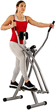 Sunny Health & Fitness SF-E902 Air Walk Trainer Elliptical Machine Glider