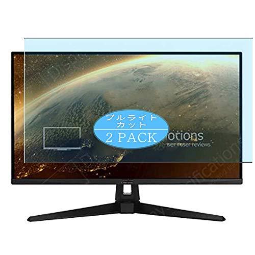 VacFun 2 Piezas Filtro Luz Azul Protector de Pantalla, compatible con Asus TUF Gaming VG289Q1A 28' Monitor, Screen Protector Película Protectora(Not Cristal Templado)