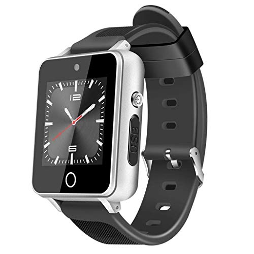 Fitness Tracker Smart Sports armband positionering GPS oproepen, tweeweg-muziek, Bluetooth smartwatch 512 MB + 8 GB Android 5.1-1.5 inch zwart/groen/zwart/rood/zwart zilver