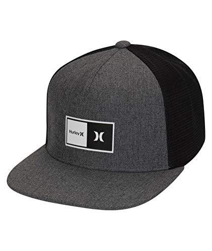 Hurley Herren Hut M Natural 2.0 Trucker Hat, Cool Grey, 1size, CJ6848
