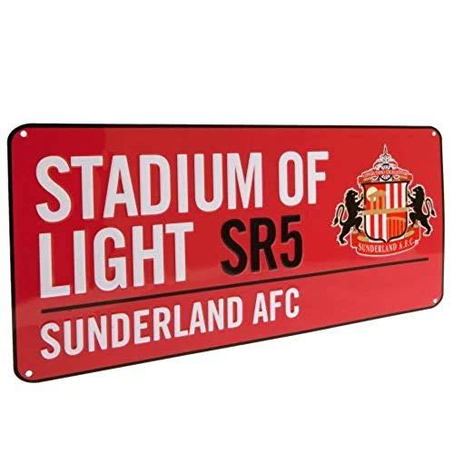 Sunderland A.F.C. Street Sign RD Official Merchandise