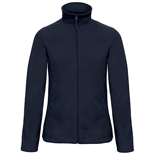 B&C Women's Id.501 Fleece Pull, Bleu (Navy 000), 36 (Taille Fabricant: 2XL) Femme