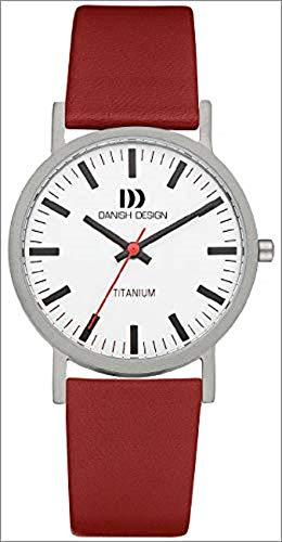Danish Design Herren-Armbanduhr XL Analog Quarz Leder 3316322