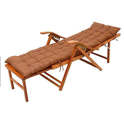 Axdwfd Zero Zero Zwaartekrachtstoel, Bamboe Ligstoelen, Verstelbare Dekstoelen voor Tuin/binnenplaats/balkon Houten Zonnestoelen met Voetenstoelen en Matrassen