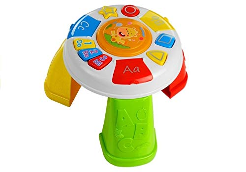 Jouet Musical pour Bébé, Jouet d'apprentissage, Table d'Actibité Bébé, Table Musicale avec Effets Sonores et Lumineux