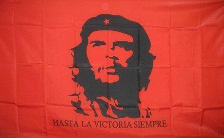 CheFlags - Bandera de Che Guevara, con Texto en inglés Rage Against The Machine