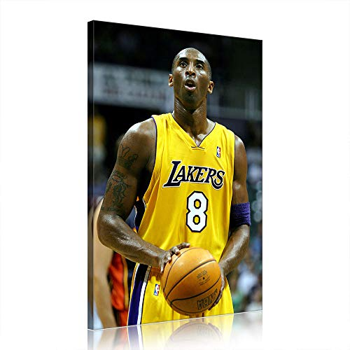 NBA Kobe Bryant Canvas Art Prints Poster Basketball Artwork for Office Home Decor (Prints-24,60x90cm)