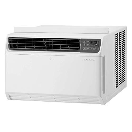 LG 18,000 BTU Dual Inverter Remote Control Window Air Conditioner, White