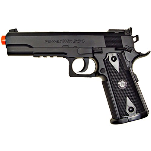 500 fps new wg airsoft 1911 non blowback gas co2 hand gun pistol w/ 6mm bb bbs(Airsoft Gun)