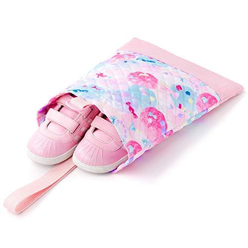 シューズケース(キルティング)上履き入れ靴袋ふわふわキュートなキャンディポップN3243200