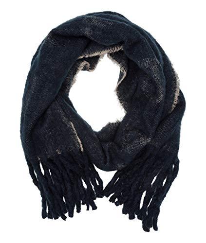 Liebeskind Damen H7199300 wool scarf Schal, Blau (Mood Indigo 5801), One Size (Herstellergröße: N)