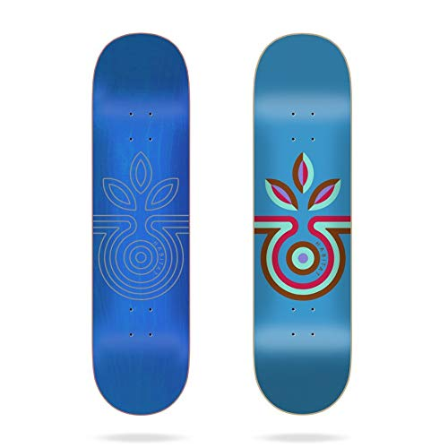 "Habitat Striped Bloom SM 8.0\""x31.5\"" Deck Skateboard, Erwachsene, Unisex, Mehrfarbig, 8.00"