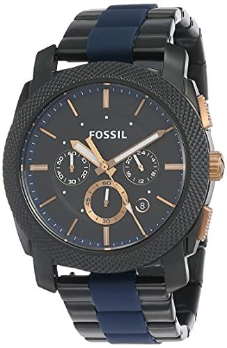 Fossil End-of-Season Chronograph Black Dial Men's Watch - FS5164