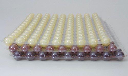 324 Stk. 3-Set Mini Schokoladen Hohlkugeln - Praline Hohlkörper gemischt