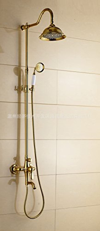 Maifeini Kupfer Kupfer Dusche Dusche_Set European-Wide Riser Edelstahl