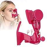 Zhenwo Pince-Nez De Levage Shaper ABS Silicone Souple De Sécurité Électrique Lift Nez Pince-Nez Mise en Forme De Beauté Massage Nez Pont Correcteur,A