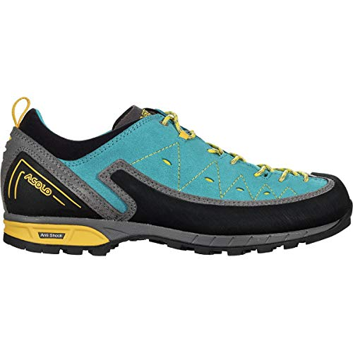 Asolo Women's Apex Shoe Donkey/Cyan Blue 7