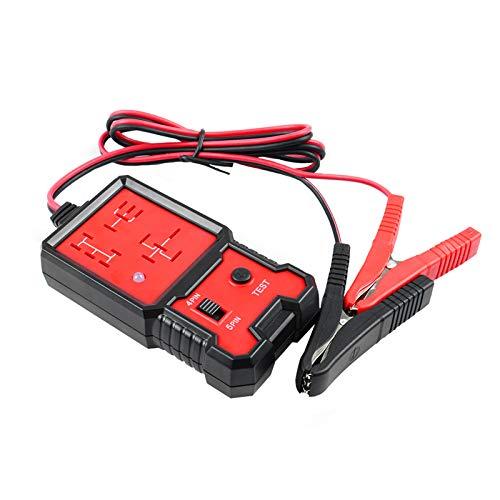 RUIZHI Probador de Relé Automotriz 12V Comprobador de Batería de Coche Herramientas de Diagnostic con Clips Relay Tester para Reparación de Auto