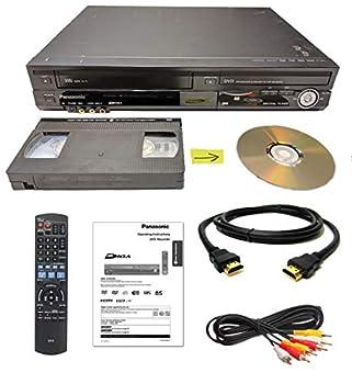 Panasonic VHS to DVD Recorder VCR Combo w/ Remote HDMI