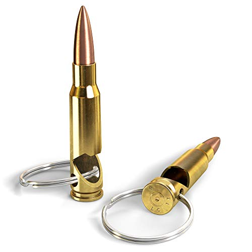 .308 Real Bullet Keychain Bottle Opener - Made in the USA