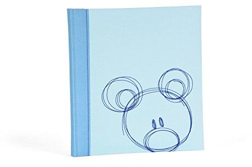 Henzo Babyalbum Sammy blau Fotoalbum, 30.5 x 28 x 4 cm