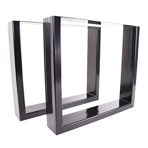 KTC Tec tafelonderstel staal zwart serie-TUGs tafelonderstel tafelframe frame frame 150 x 50 mm