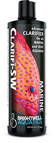 Brightwell Aquatics Clarifi-SW Clarifi-SW - Pour tous les aquariums marins et récifs - 125 ml - Non applicable