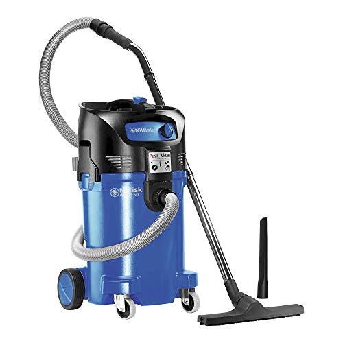 Nilfisk ALTO 302003411 - Aspirador en húmedo y seco Industrial, 3700 l/min, 47 l, 1500 W, 230 V, Color Negro y Azul