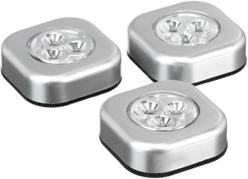 GHZ Matra 108243B LED Touch Lampada Quadrata 3Set di cartone.
