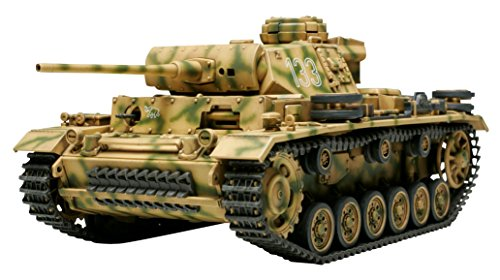 Tamiya 1/48 Military Miniature Series No.24 German Panzer III L-32524