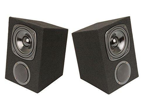 2-Wege Trapezboxen Lautsprecher Boxen DJ Beschallung Event 120W, 4-8 Ohm Paar