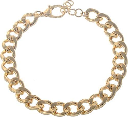 Behave klassieke gourmet-ketting - goudkleurige halsketting - modesieraad