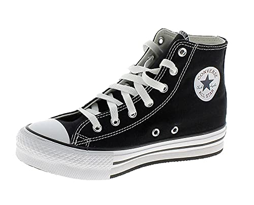 All Star Chuck Taylor EVA Lift-Hi Chaussures DE Sport Noires Fille 671107C