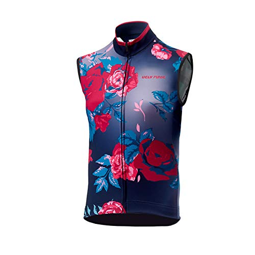 Uglyfrog Chaleco Hombre Cycling Jersey Maillot Ciclismo Sin Mangas Camiseta de Ciclistas Ropa Ciclismo VEX01