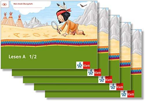Lesen A 1/2: Übungsheft Paket (VE 5) Klasse 1/2 (Mein Anoki-Übungsheft)
