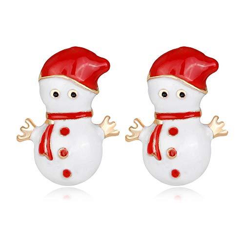 Weihnachtszubehör Ebay Weihnachten Schneemann Ohrringe Legierung Tropf Ohrringe Kdw
