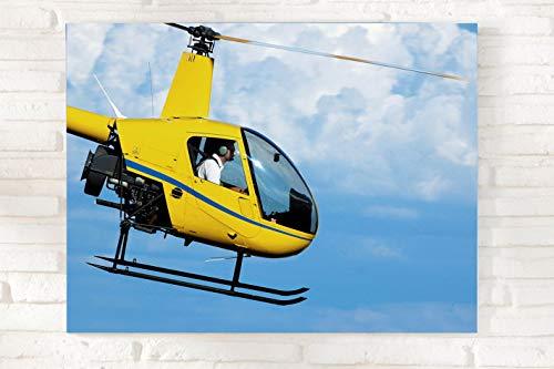 Jochen Schweizer Geschenkgutschein: Helikopter Rundflug & CEWE Fotoleinwand