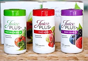Juice Plus+ Fruit Vegetable and Berry Capsules 2 Month Supply