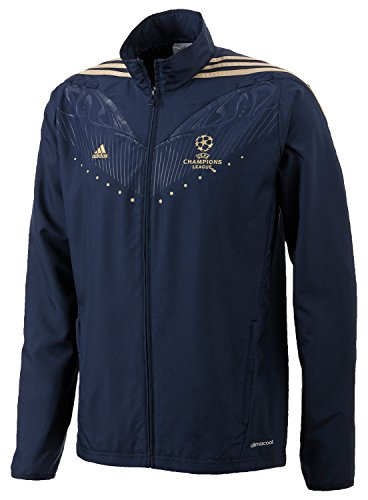adidas Herren Jacke Predator UEFA Champions League Woven, collegiate navy/light football gold, L, Z28241