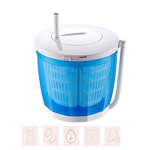 Washers Mini Portable Washing Machine, Manual Dehydrator with Foldable Handle and Detachable Drain Basket, Desktop Small Semi-Automatic Vegetable Washing Basket