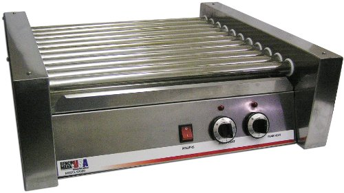 Benchmark 62030 30 Dog Roller Grill, 120V, 1100W, 9.2A