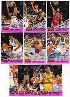 1993 - 1994 Topps Stadium Club Basketball Beam Team Series 2 Set - 14 Cards #14-27 Includes Chris Webber and Anfernee Hardaway Rookie Cards
