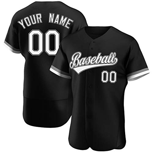 Custom Baseball Jersey Personalized Stitched Baseball Shirt with Team/Your Name and Numbers for Men/Women/Youth