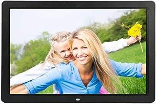 JIANGNIAU Frame 17 inch HD 1080P LED Display Multi-Media Digital Photo Frame with Holder & Music & Movie Player, Support U...