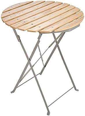 Berliner - Silla de jardín o mesa, plegable con estructura de metal